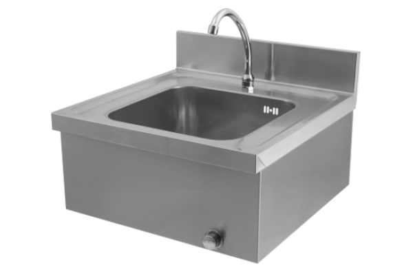 Washbasin with knee operated water 500x500